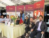 برگزاری نمایشگاه چینی زرین در جشنواره پاییزه بنیاد خیریه نور احسان