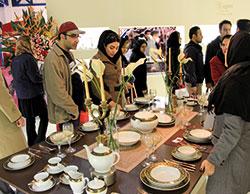 مشارکت چینی زرین در نمایشگاه لوازم خانگی کرج