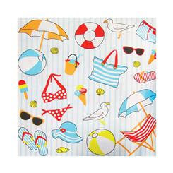 دستمال سفره ساحل تابستان