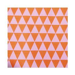 دستمال سفره کاغذی مثلث نارنجی
