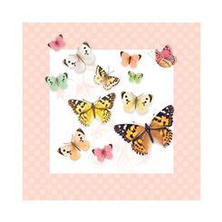دستمال سفره کاغذی پروانه های وینتیج