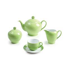 سرویس چینی 17 پارچه چای خوری پسته