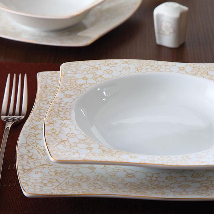 سرویس چینی 30 پارچه غذاخوری کاترین