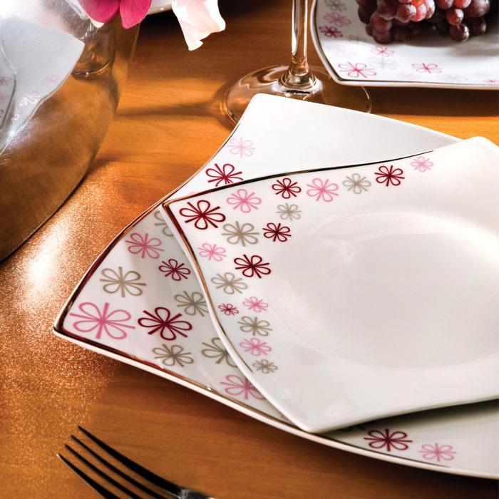 سرویس چینی 30 پارچه غذاخوری تینا
