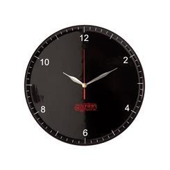 ساعت دیواری روندو مشکی