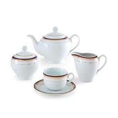 سرویس چینی 17 پارچه چای خوری خاطره