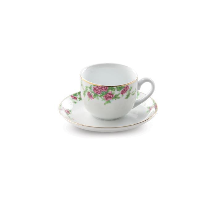 سرویس چینی 12 پارچه چای خوری بیدگل