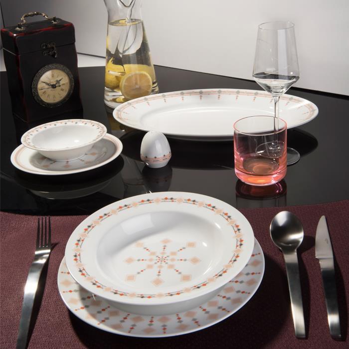 سرویس چینی 28 پارچه غذاخوری کاونتری