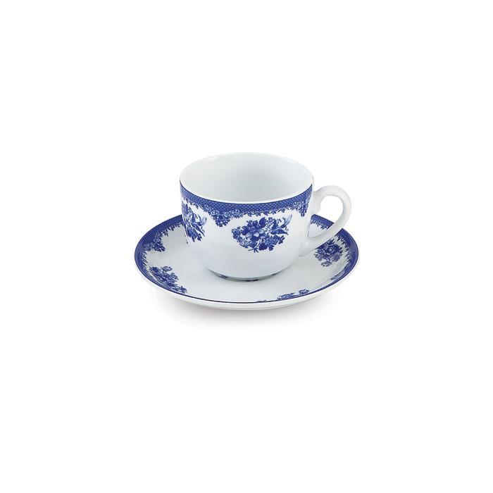 سرویس چینی 12 پارچه چای خوری فلورانس
