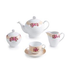 سرویس چینی 17 پارچه چای خوری هلن