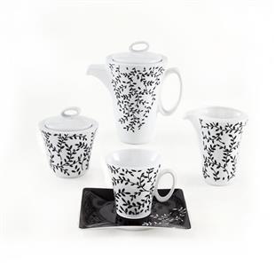 سرویس چینی 17 پارچه چای خوری نارون