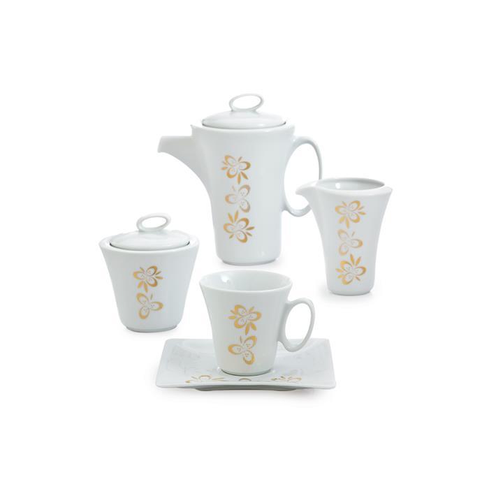 سرویس 17 پارچه چای خوری پریماورا طلایی