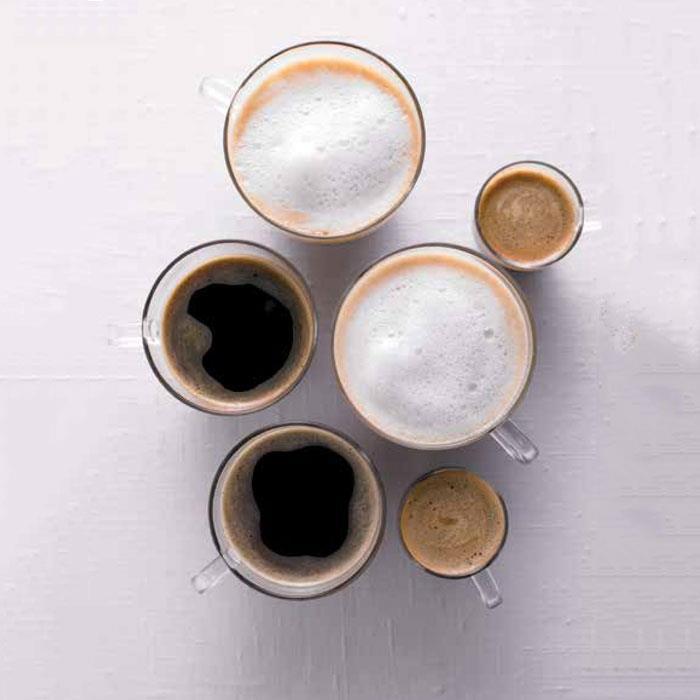 ست فنجان نعلبکی تک کافه ینرگلس 250 ساده