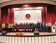 بازدید دختران قهرمان فوتسال آسیا از کارخانه چینی زرین ایران