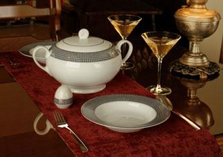 ویژگی های ظروف چینی خوب و مرغوب
