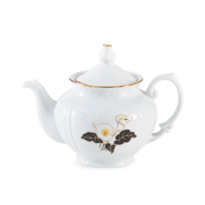 قوری چای چهار ترک بزرگ نیلوفر