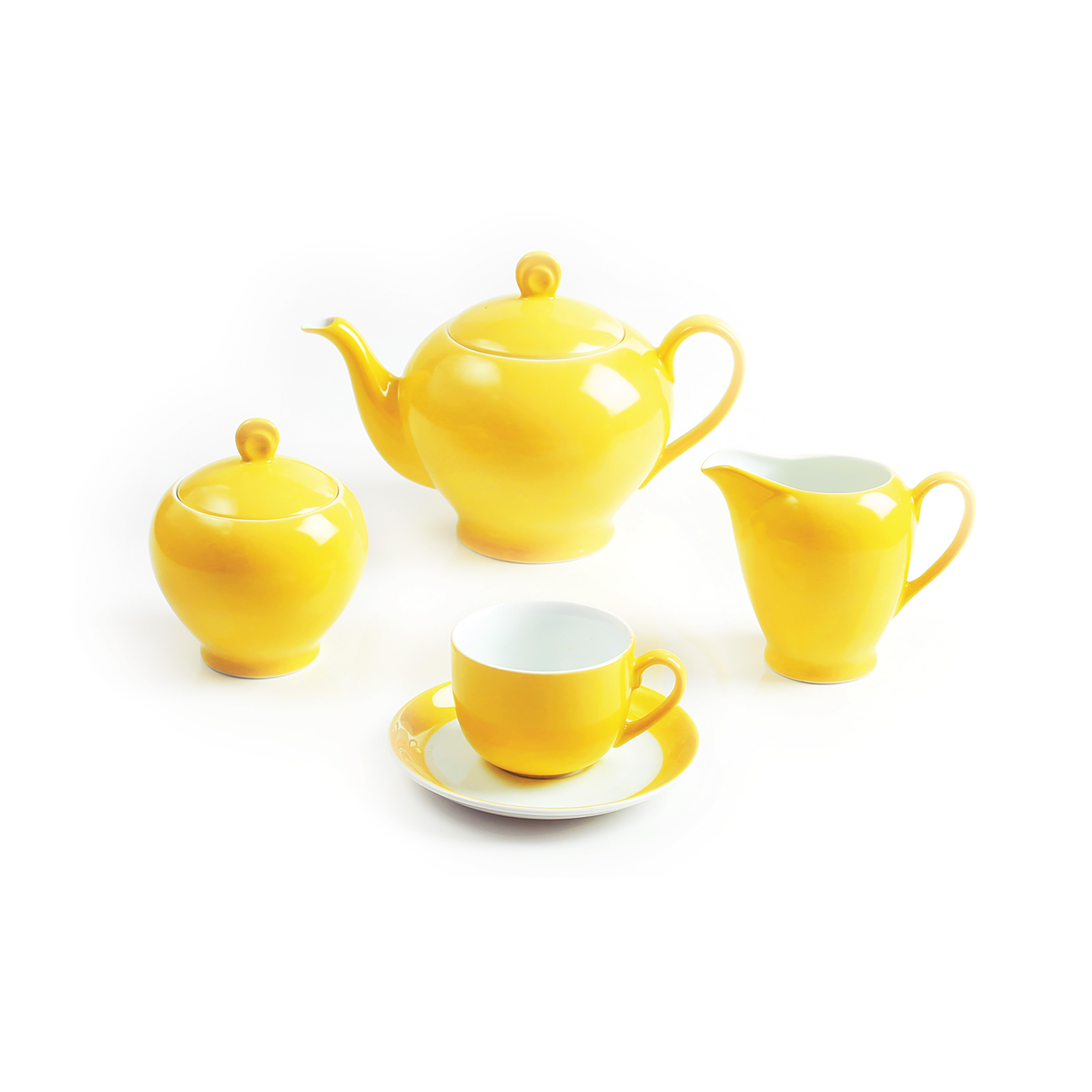 سرویس چینی 17 پارچه چای خوری آفتاب