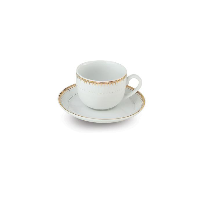 سرویس چینی 12 پارچه چای خوری سپیدار
