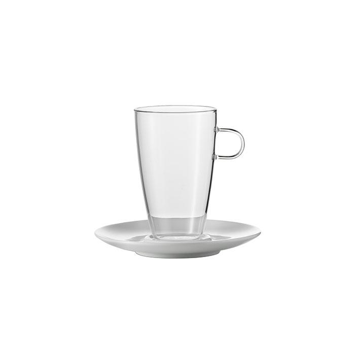 سرویس فنجان نعلبکی تک کافه ینرگلس 500