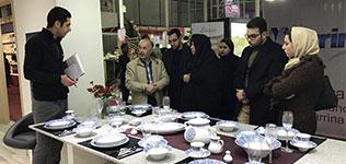 مشارکت صنایع چینی زرین ایران در هجدهمین نمایشگاه بین المللی لوازم خانگی مشهد
