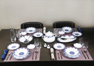 چیدمان میز ناهار