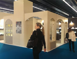 Participation of Zarin Iran Porcelain Industries In The Ambiente Fair