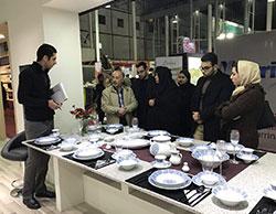 مشارکت صنایع چینی زرین ایران در هجدهمین نمایشگاه لوازم خانگی مشهد 1395