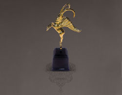 Zarin selected as the winner of superior quality golden statue